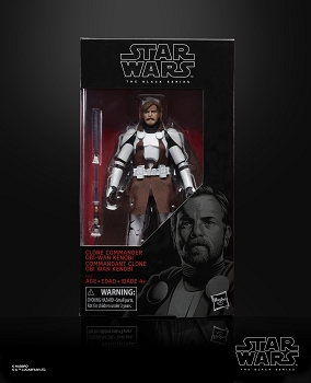Star Wars Black Series CLONE COMMANDER OBI-WAN KENOBI